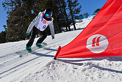 Europa Cup Finals Banked Slalom, CAVA Cassie, GBR at the 2016 IPC Snowboard Europa Cup Finals and World Cup