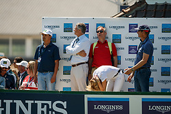 Team GER, Becker Otto, Beerbaum-Michaels Meredith, Hetzel Holger<br /> Longines FEI Jumping Nations Cup de France<br /> La Baule 2018<br /> © Hippo Foto - Dirk Caremans<br /> 20/05/2018