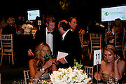 ELLE MACPHERSON; ZAC GOLDSMITH; KEVIN SPACEY The Ormeley dinner in aid of the Ecology Trust and the Aspinall Foundation. Ormeley Lodge. Richmond. London. 29 April 2009