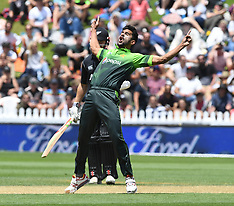 Wellington-Cricket, International, New Zealand v Pakistan, 1st one day