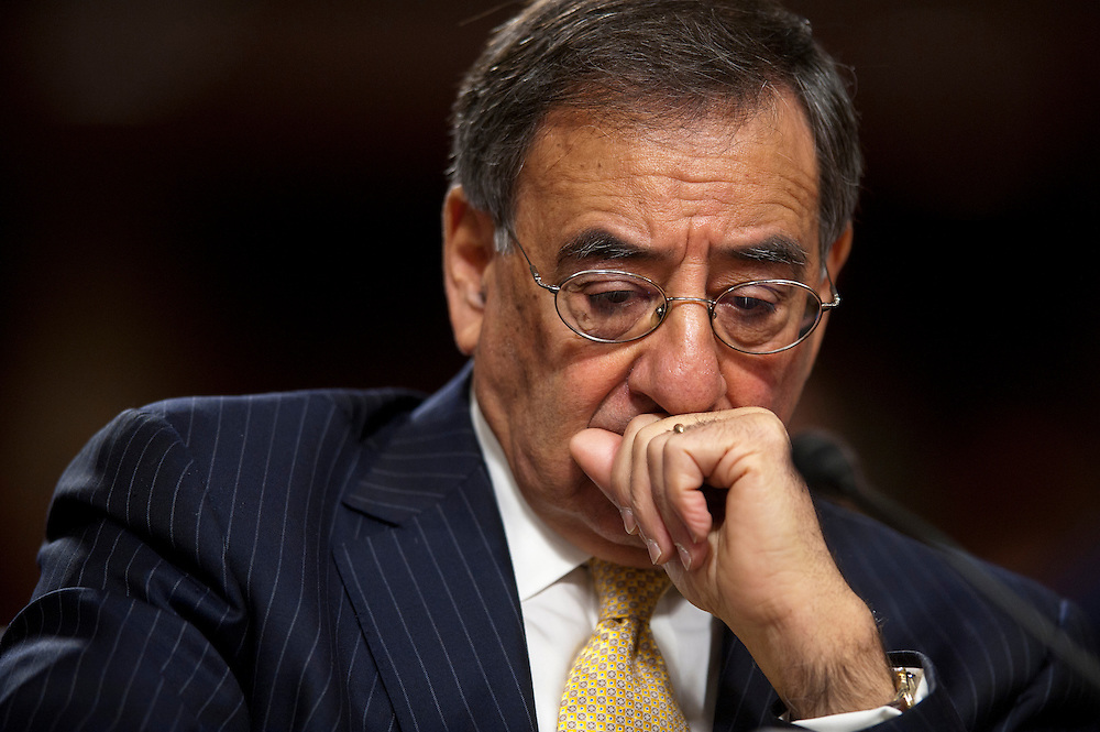 Defense Secretary LEON PANETTA testifies.before the Senate Armed Services Committee on the Defense Authorization Request for FY2013 and the Future Years Defense Program.