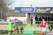 Kerry Ad board during the EFL Sky Bet League 2 match between Forest Green Rovers and Walsall at the New Lawn, Forest Green, United Kingdom on 8 February 2020.