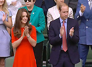 Kate, Prince William, Prince Albert & Celebs At Wimbledon