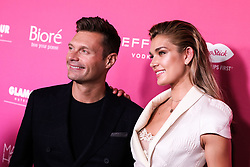 MANHATTAN, NEW YORK CITY, NY, USA - SEPTEMBER 12: US Weekly's Most Stylish New Yorker Party 2018 held at the Magic Hour Rooftop Bar and Lounge on September 12, 2018 in Manhattan, New York City, New York, United States. 12 Sep 2018 Pictured: Ryan Seacrest, Shayna Taylor. Photo credit: Image Press Agency/MEGA TheMegaAgency.com +1 888 505 6342