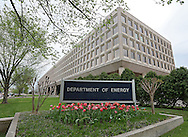 The United States Department of Energy in the James V. Forrestal Building in Washington, DC on Monday, April 15, 2013.