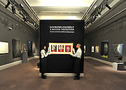 ©London News pictures...31.01.2011. Francis Bacons's 'Three studies for a portrait of Lucian Freud is estimated to fetch 7-9million. Highlights of upcoming Sotheby's sales of impressionist and modern art and contemporary art. Works on show include a Picasso portrait of his mistress and muse Marie-Therese, from 1932 which is estimated to fetch £12 to £18 million, a private commission by Marc Chagall - never before seen on the market - estimated to fetch in excess of £10m and a Hockney painting estimated at £1 to £1.5m. . Picture Credit should read Stephen Simpson/LNP