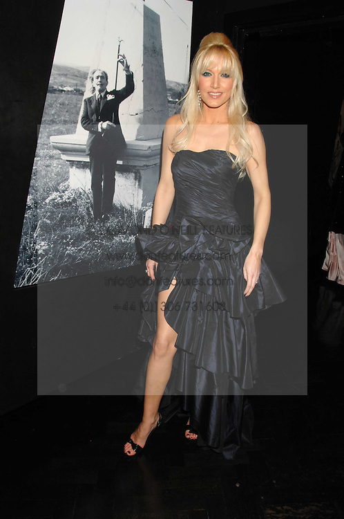 EMMA NOBLE at Andy & Patti Wong's Chinese new Year party held at County Hall and Dali Universe, London on 26th January 2008.<br /> <br /> NON EXCLUSIVE - WORLD RIGHTS (EMBARGOED FOR PUBLICATION IN UK MAGAZINES UNTIL 1 MONTH AFTER CREATE DATE AND TIME) www.donfeatures.com  +44 (0) 7092 235465
