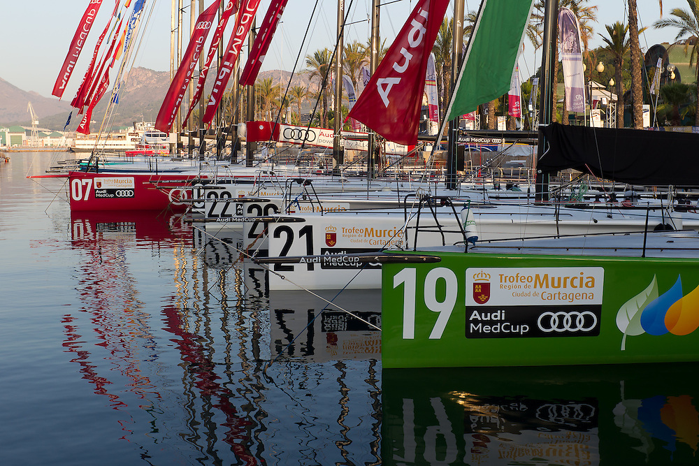 SPAIN, Cartagena. 24th August 2011. AUDI MedCup, Region of Murcia Cartagena Trophy.