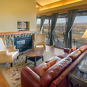 Cave B Estate Winery & Resort.  Cliffehouse Sitting Area.