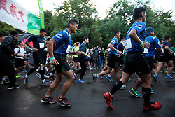 UK ENGLAND 29JUL17 - First teams set off at 6 a.m. for the Trailwalker 2017 challenge in Petersfield, South Downs, England.<br /> <br /> jre/Photo by Jiri Rezac<br /> <br /> &copy; Jiri Rezac 2017