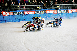 13.03.2016, Assen, BEL, FIM Eisspeedway Gladiators, Assen, im Bild Franz Zorn (AUT), Ove Ledstroem (SWE), Niklas Kallin Svensson (SWE) // during the Astana Expo FIM Ice Speedway Gladiators World Championship in Assen, Belgium on 2016/03/13. EXPA Pictures &copy; 2016, PhotoCredit: EXPA/ Eibner-Pressefoto/ Stiefel<br /> <br /> *****ATTENTION - OUT of GER*****