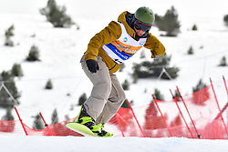 OSA MENDES Xabier, SB-UL, ESP, Banked Slalom at the WPSB_2019 Para Snowboard World Cup, La Molina, Spain