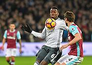 West Ham United v Manchester United - Premier League - 02/01/2017