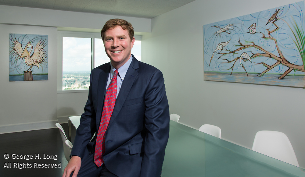 Lance McCardle, attorney at Fishman Haygood in New Orleans