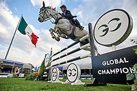 MEXICO DF, MEXICO - APRIL 23:  Global Champions Tour of Mexico at Campo de Marte on April 23, 2018 in Mexico DF, Mexico. (Photo by Manuel Queimadelos / Oxer Sport)