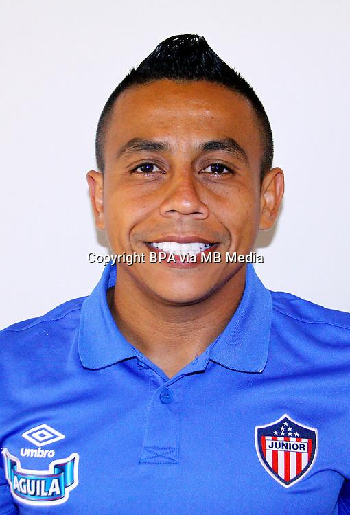 Colombia League - Liga Aguila 2015-2016 - <br /> Club Deportivo Junior de Barranquilla - Colombia / <br /> Vladimir Javier Hernandez Riveiro