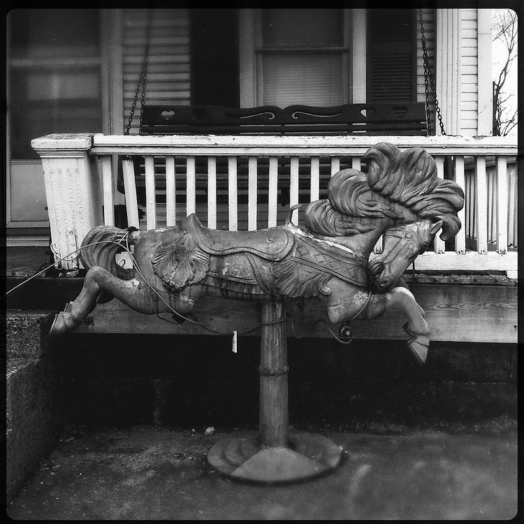 Americana.<br /> <br /> Rocking horse, Piqua, Ohio.