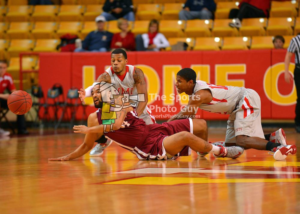NCAA Men's Basketball - VMI handles Central Penn, 116-81