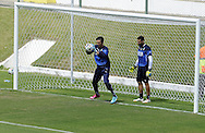 Gianluigi Buffon pictured during Italy training at Portobello Resort, Natal<br /> Picture by Stefano Gnech/Focus Images Ltd +39 333 1641678<br /> 22/06/2014