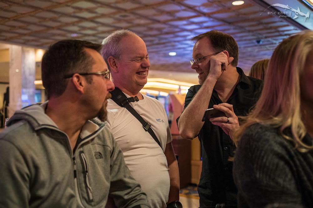 Hergen Spalink, Adam Hanlon, Jim Decker (DEMA 2016, Las Vegas)