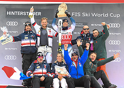 26.10.2019, Hannes Trinkl Weltcupstrecke, Hinterstoder, AUT, FIS Weltcup Ski Alpin, Alpine Kombination, Herren, Siegerehrung, im Bild Alexis Pinturault (FRA) SIEGER // Alexis Pinturault of France WINNER during the winner ceremony for the men's Alpine combined of FIS ski alpine world cup at the Hannes Trinkl Weltcupstrecke in Hinterstoder, Austria on 2019/10/26. EXPA Pictures © 2020, PhotoCredit: EXPA/ Erich Spiess