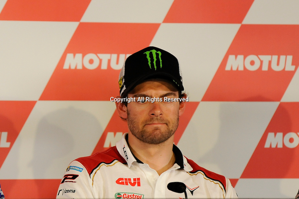 23.06.2016. Motul TT Assen. Assen, Netherlands. TT Circuit of Assen. Cal Crutchlow during the press conference.