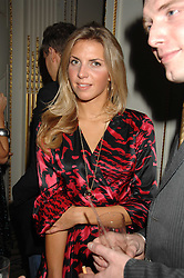 STEPHANIE COATEN at a party to celebrate the launch of The Essential Party Guide held at the Mandarin Oriental Hyde Park, 66 Knightsbridge, London on 27th March 2007.<br />