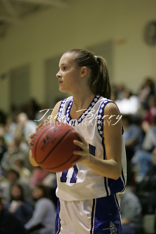Page Tournament.Varsity Girls vs Rappahannock.Third Period.December 29, 2004
