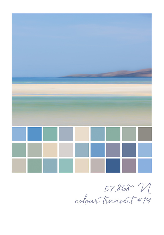 Colour transect #19, 57.868° N