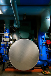 USA NEW YORK JUN10 - Retrofitted air conditioning unit by Johnson Control inside the Empire State Building  in midtown Manhattan, New York...jre/Photo by Jiri Rezac..© Jiri Rezac 2010