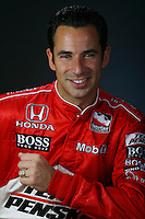 Helio Castroneves, photo shoot, Homestead Miami Speedway, Homestead, FL USA 2/20/07