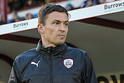 Paul Heckingbottom (Manager) (Barnsley) before the Sky Bet League 1 match between Barnsley and Oldham Athletic at Oakwell, Barnsley, England on 12 April 2016. Photo by Mark P Doherty.