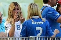 """Roberta MARCHISIO, Valeria MAGGIO (Italia)<br /> Danzica 10/06/2012  """"GDANSK ARENA""""<br /> Football calcio Europeo 2012  Spagna Vs Italia <br /> Football Calcio Euro 2012<br /> Foto Insidefoto Alessandro Sabattini"""