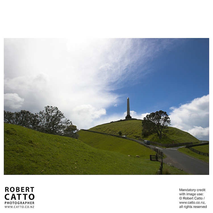 One Tree Hill, Auckland, New Zealand.<br />