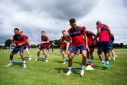 Scott Golbourne in action as Bristol City return for pre-season training ahead of the 2017/18 Sky Bet Championship Season - Rogan/JMP - 30/06/2017 - Failand Training Ground - Bristol, England - Bristol City Training.