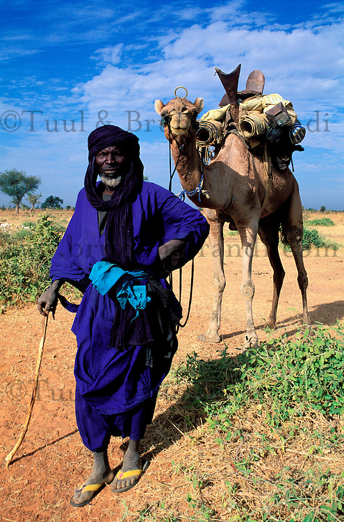 Mali - Région de Mopti - Homme du Désert