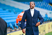 Jermaine Beckford arrives at the ground during the EFL Sky Bet Championship match between Leeds United and Blackburn Rovers at Elland Road, Leeds, England on 9 November 2019.