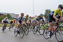 The peloton roll out of Vårgårda for the 141 km road race of the UCI Women's World Tour's 2016 Crescent Vårgårda women's road cycling race on August 21, 2016 in Vårgårda, Sweden. (Photo by Sean Robinson/Velofocus)