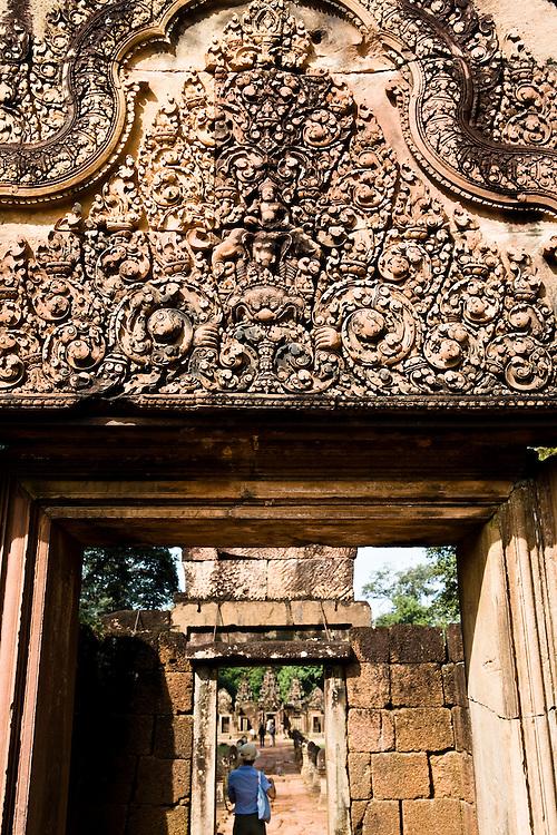 Banteay Srei temple. Angkor, Siem Reap, Cambodia. Siem Reap, Cambodia