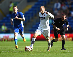 Bolton Wanderers' Eidur Gudjohnsen in action during the Sky Bet Championship match between Cardiff City and Bolton Wanderers at Cardiff City Stadium on 6 April 2015 in Cardiff, Wales - Photo mandatory by-line: Paul Knight/JMP - Mobile: 07966 386802 - 06/04/2015 - SPORT - Football - Cardiff - Cardiff City Stadium - Cardiff City v Bolton Wanderers - Sky Bet Championship