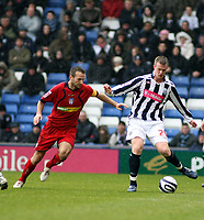 Photo: Mark Stephenson/Richard Lane Photography. <br /> West Bromwich Albion v Colchester United. Coca-Cola Championship. 29/03/2008. <br /> West Brom's Chris Brunt holds the ball up