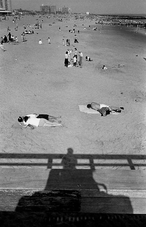 "Coney Island. Brooklyn, NYC...Part of long-term (2005-2008) story ""I See A Darkness"". New York, NY."