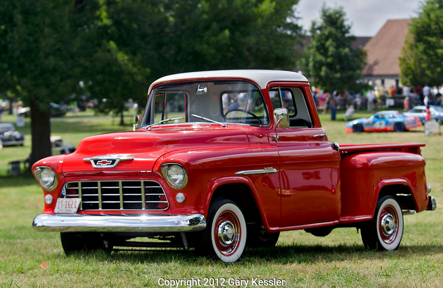 1955 Chevrolet Pick Up Truck, Keeneland Concours D'Elegance,Lexington,Ky.
