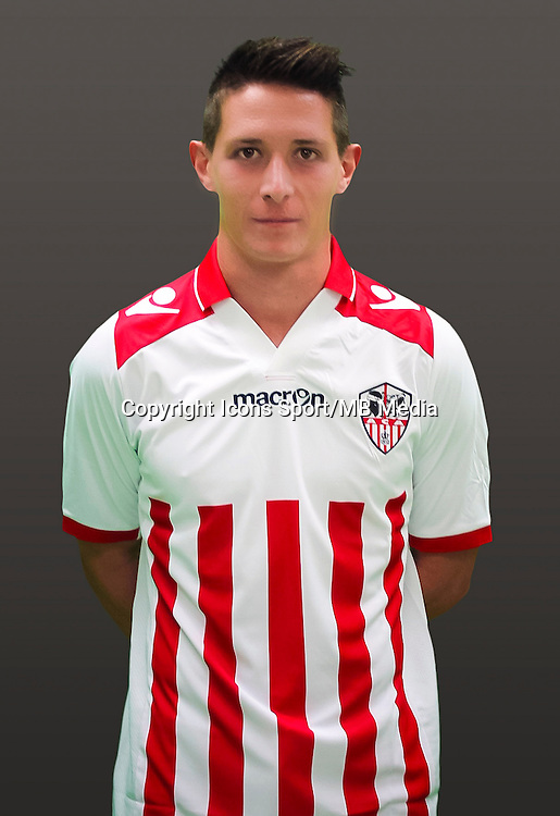 Laurent ABERGEL - 21.09.2014 - Photo officielle AC Ajaccio - Ligue 2<br /> Photo : Icon Sport