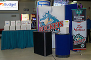 KELOWNA, CANADA - FEBRUARY 22:  Promotions at the Kelowna Rockets game on February 22, 2017 at Prospera Place in Kelowna, British Columbia, Canada.  (Photo By Cindy Rogers/Nyasa Photography,  *** Local Caption ***
