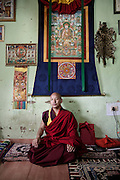 Abbot, and school administrator, and astrologer of the King, his name is Sonam Rinchen, 33 at thaRoyal School of Astrology in Thimphu degree course of 7 years with more than 116 students
