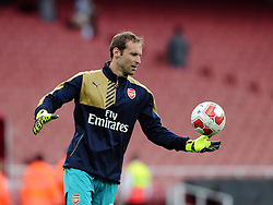 Petr Cech of Arsenal   - Mandatory by-line: Joe Meredith/JMP - 25/07/2015 - SPORT - FOOTBALL - London,England - Emirates Stadium - Arsenal v Lyon - Emirates Cup