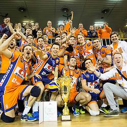20160312: SLO, Volleyball - MEVZA Cup Final, Hypo Tirol Innsbruck vs ACH Volley