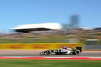 Esteban Gutierrez (MEX) Sauber C33.<br /> United States Grand Prix, Friday 31st October 2014. Circuit of the Americas, Austin, Texas, USA.