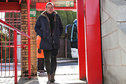 Forest Green Rovers manager, Mark Cooper during the EFL Sky Bet League 2 match between Accrington Stanley and Forest Green Rovers at the Fraser Eagle Stadium, Accrington, England on 17 March 2018. Picture by Shane Healey.